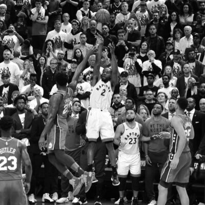 2019 NBA Playoffs coverage, Kawhi Leonard, Game 7, Philadelphia 76ers